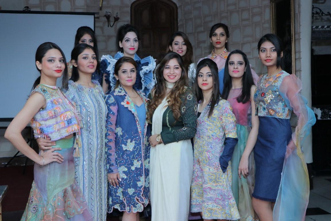 Inifd Designers Showcase London Fashion Week Collection