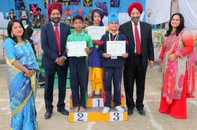 Annual Sports Day celebration at Ashmah International School