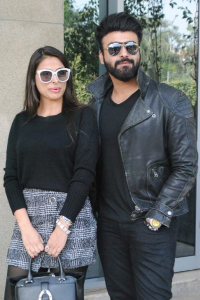 Tera Intezaar Team Aarya Babbar & Actress Bhani Singh iIn Chandigarh