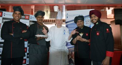"Chitkara University hosts ""Culinary Art Demonstrations"" by Cuisine Master Chef , Colin Westal"
