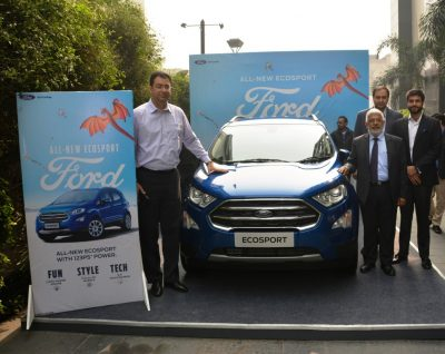 Fun, Stylish, Powerful & Connected – Ford India Introduces New EcoSport at INR 731,200