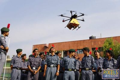 Air Force team visits D.A.V. College to handshake with NCC Cadets and Chandigarh youth through 'Guardians of the Sky'