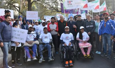 Mohali walks with Fortis to create awareness on Organ Donation