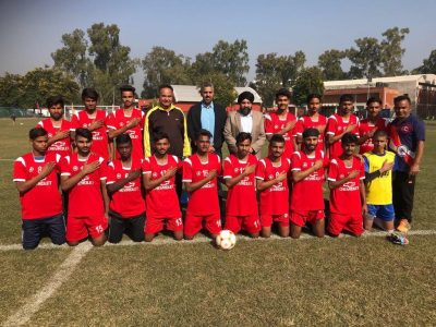 From South Hall , Channa Gill to promote football in All Punjab