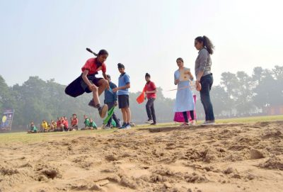 Shemrock School's two days Annual Sports Meet kick started at Sports Complex Sec -46