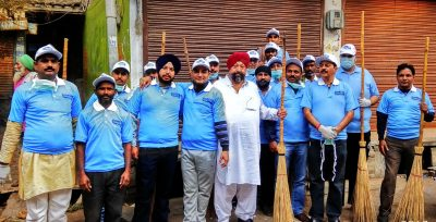 Bunge India & Traders Association launch Swachh Bharat Abhiyan at Dhab Wasti Ram Amritsar