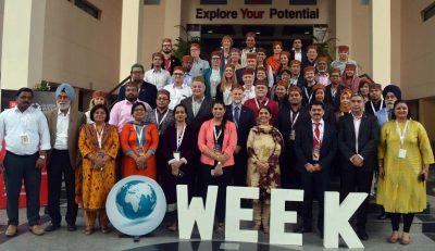 Global Week 2017 organized at Chitkara University, Himachal Pradesh