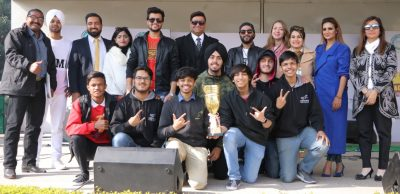 Soaring Eagles soar high at 8th Satluj Rock Show Competition