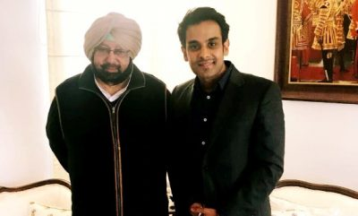 Punjab CM Lauds Mohali Singer/Composer Rahul Lakhanpal's Hollywood Fame
