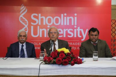 Shoolini University gets the distinction of being among the top generator of patents in the country