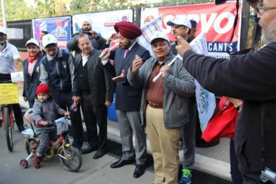 DGP flags off Saksham Cycle Rally organized by Indian Oil Corporation Ltd.