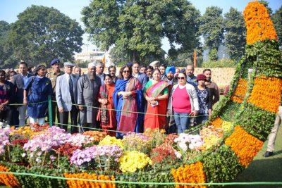 Chrysanthemum Show at Terraced Garden till December 10