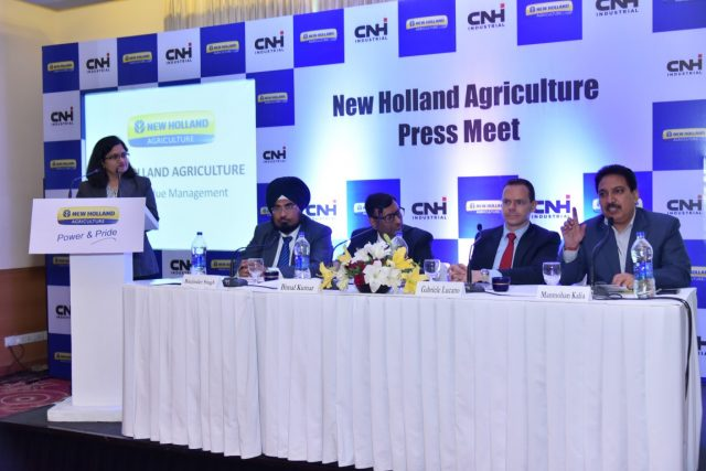 New Holland Agriculture presents technical solutions to combat the burning of crop-residue and stubble
