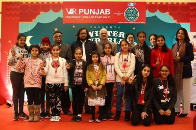 Childrens' Art Fest at VR Punjab:  Young Artists' create breathtaking art