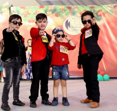 Little Icons Christmas Show held at Chandigarh Club