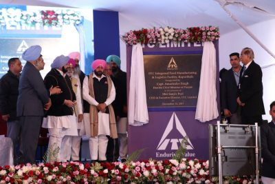 CM inaugurates ITC food plant at Kapurthala