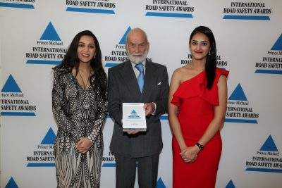 ArriveSAFE gets International Road Safety Award