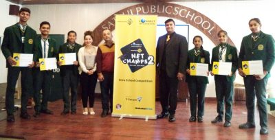 Connect Net Champs Edition 2 organizes Intra-School Competition at Satluj Public School