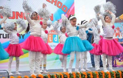 "Paragon School Students enthrall audience at 35th Annual Day ""Spectrum"""
