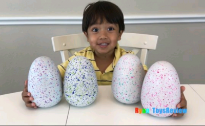 6-year-old Ryan of YouTube's Ryan ToysReview made $11 million in revenue