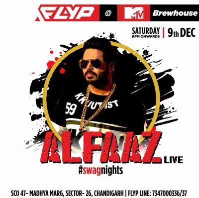 Punjabi star Alfaaz to rock FLYP@MTV Cafe this Saturday, 09th December!