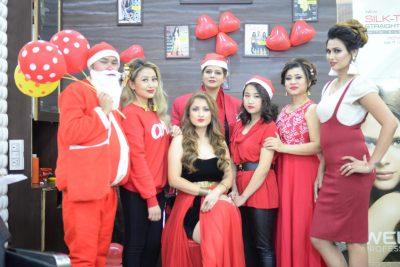 XMAS festivity and new year Celebration as CLEOPATRA SPA & SALON kicked off