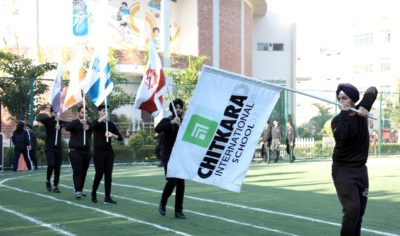 Chitkara International School Organised a Four-day long enthralling Winter Olympics