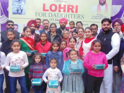 """The Needs – Society for Humanity "" celebrated Lohri"