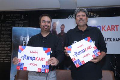 Kapil Dev is PumpKart Brand Ambassador