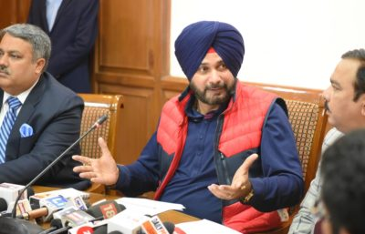 Navjot Singh Sidhu releases Vision Document of Local Government & Tourism & Cultural Affairs Department