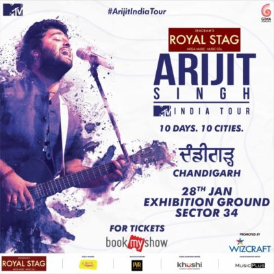 Arijit Singh 2018 tour all set to take India by Strom