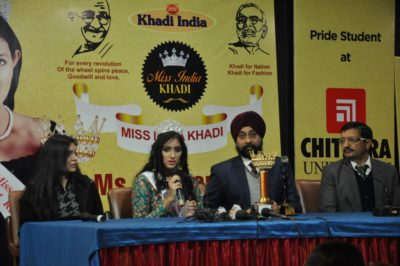 Mohali's Gurleen brings laurels to tricity at National Khadi Beauty Pageant – Miss India Khadi