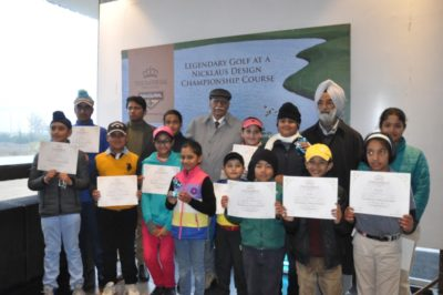Golf Tournament for Juniors held at The Imperial Golf Estate