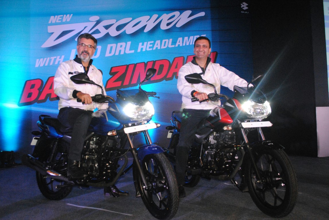 Bajaj Auto launches new Discover 110 & 125
