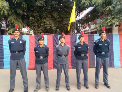 Five City Air wing NCC cadets including two girls are representing Chandigarh at Republic Day Camp 2018
