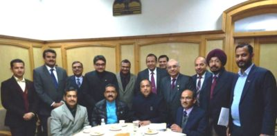 CII Industry delegation calls on HP Chief Minister