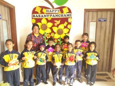 Basant Panchami celebrations at SMD School