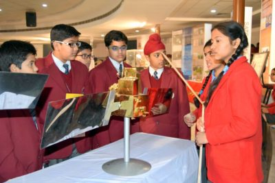 ISRO organised 2 days Setllaite Model Exhibition at Lawrence School