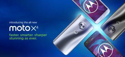 All-new moto x4 6GB variant – Faster, Smarter & Sharper