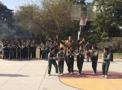 Lohri Celebrations at Sri Aurobindo School