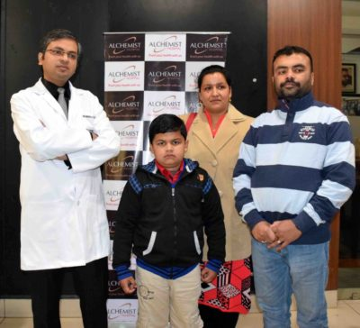 8-yr boy gets new lease of life