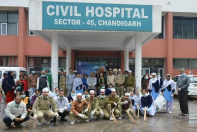 564 Government Hospitals and dispensaries cleaned across 250 cities by Sant Nirankari Charitable Foundation