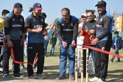 Famous film maker Abhinav Kashyap unveils Dikshant Cricket Ground & Academy