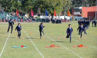 Annual Sports meet held at CRB Public School