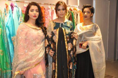 Famous Punjabi-Bollywood singer Jasmine Sandlas inaugurates 'Kiren Sandhu Designer Studio'