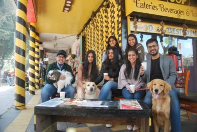 City's first dog-friendly café SOP, in Sector 32