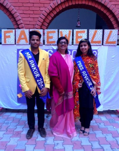 Class X Ankur School students given farewell