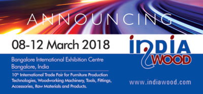 INDIAWOOD 2018 is all set to showcase the latest innovations and trends at BIEC, Bangalore
