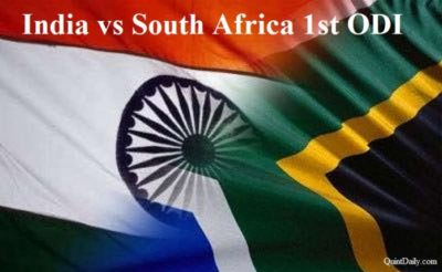 Live Cricket Streaming: South Africa vs India, 1st ODI Match Scores Ball by Ball