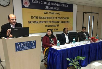 NIPM Launches Student Chapter in Amity Business School